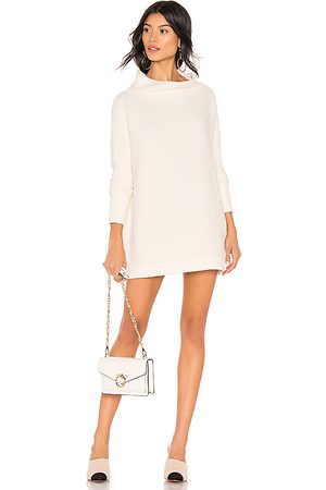 Free People Ottoman Slouchy Tunic Sweater Dress in - White. Size S (also in XL).