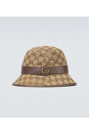 Gucci Fedora-Hut GG aus Canvas