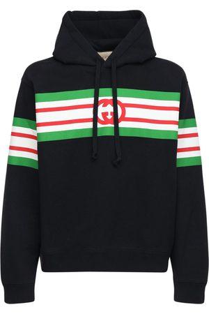 Gucci Gg-hoodie Aus Baumwollfleece
