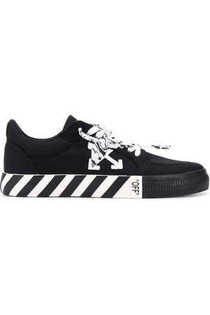 OFF-WHITE Logo-patch low-top sneakers