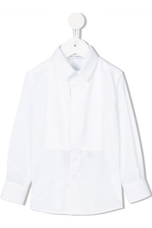 Dolce & Gabbana Cutaway collar shirt