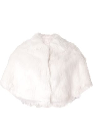 Unreal Fur Faux-fur shawl