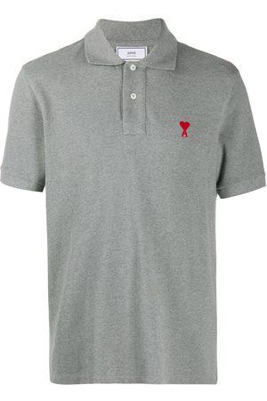Ami Herren Poloshirts - Logo-embroidered polo shirt