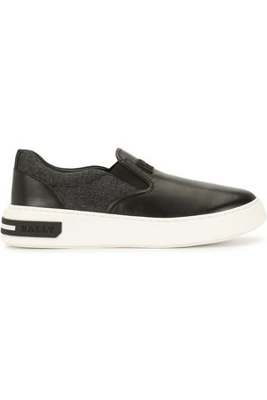 Bally Logo-patch slip-on sneakers