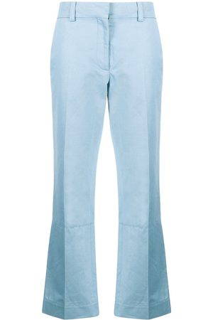 Marni Flared cropped trousers