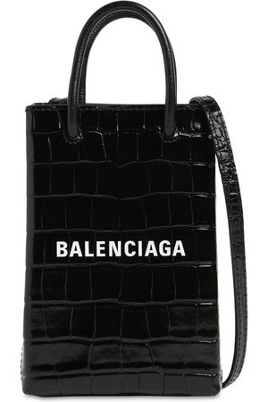 """Balenciaga Handytasche Aus Leder """"shopping Embo"""""""
