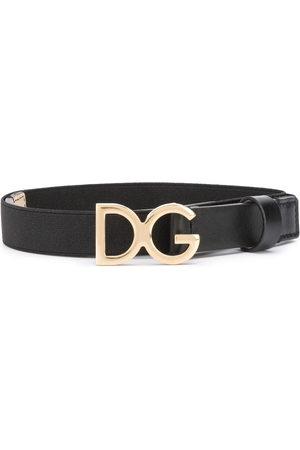 Dolce & Gabbana Kids Jungen Gürtel - Logo plaque belt