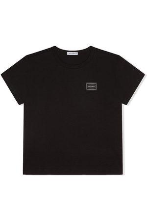 Dolce & Gabbana Logo-patch short-sleeve T-shirt
