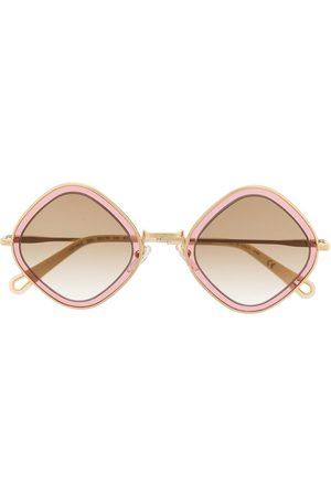 Chloé Two-tone square frame sunglasses