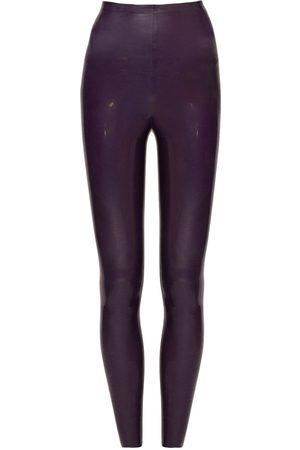 Saint Laurent Hochtaillierte Leggings Aus Stretch-material