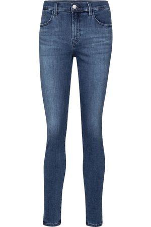 J Brand Mid-Rise Skinny Jeans Sophia