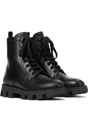 Prada Ankle Boots aus Leder