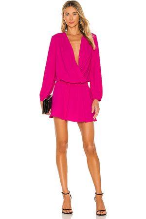 Amanda Uprichard Damen Kleider - Ciara Dress in - Fuchsia. Size L (also in XS, S, M).