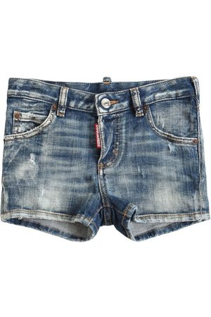 Dsquared2 Damen Shorts - Shorts Aus Stretch-baumwolldenim