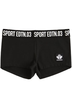 Dsquared2 Shorts Aus Stretch-baumwolljersey