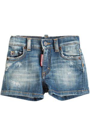 Dsquared2 Shorts Aus Stretch-denim