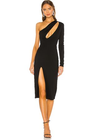 h:ours Pagne Midi Dress in - . Size S (also in XXS, XS).