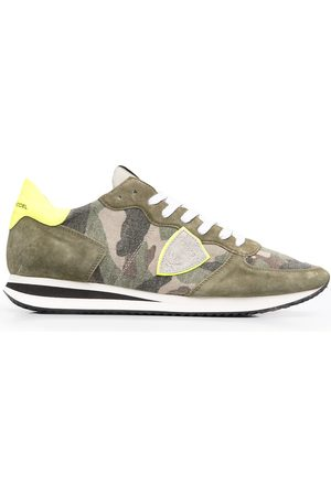 Philippe model Trpx Camouflage Neon low-top sneakers