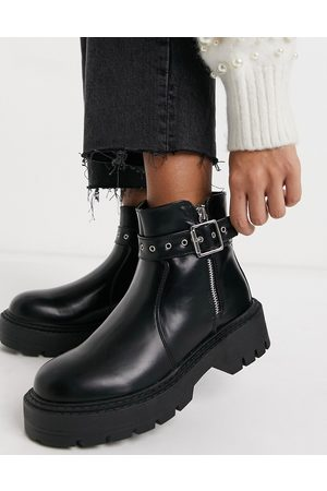 Glamorous Chunky ankle boots in