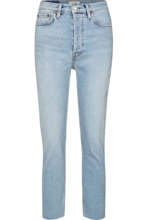 RE/DONE High-Rise Slim Jeans 90s