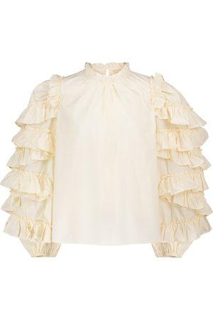 ULLA JOHNSON Bluse Pippa aus Baumwolle