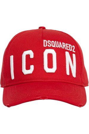 Dsquared2 Kappe Aus Baumwollgabardine Mit Stickerei