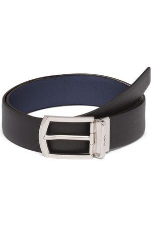 Prada Herren Gürtel - Reversible Saffiano leather belt