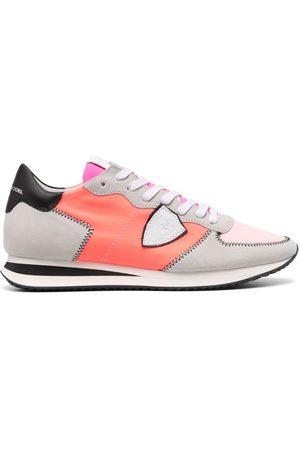 Philippe model Damen Schnürschuhe - Colour-block low-top sneakers