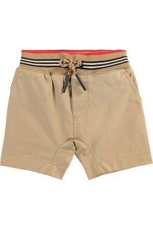 Burberry Shorts - Baby Shorts Icon Stripe aus Baumwolle