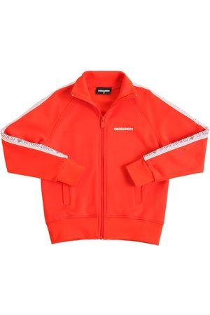 Dsquared2 Herren Sweatjacken - Sweatshirt Aus Baumwollmischung Mit Zip