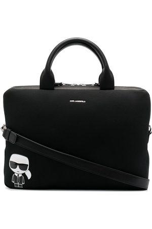 Karl Lagerfeld K/Ikonik laptop bag