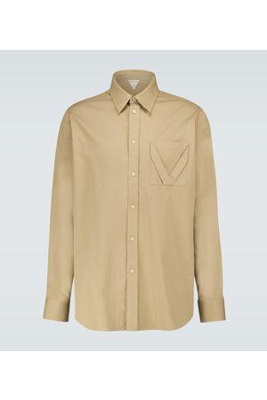 Bottega Veneta Hemd aus Baumwoll-Jacquard