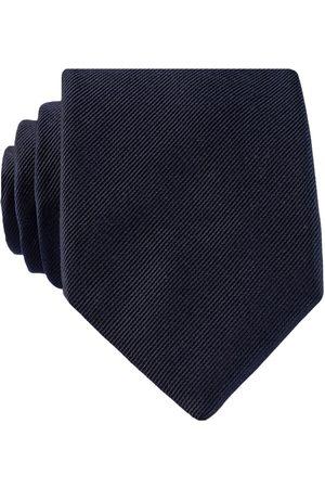 HUGO BOSS Krawatte blau