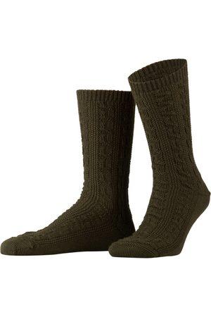 LUSANA Herren Socken & Strümpfe - Trachtensocken gruen