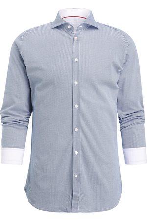 DESOTO Herren Freizeit - Jerseyhemd Slim Fit