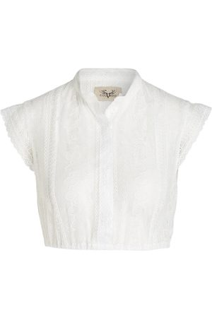 CocoVero Dirndlbluse weiss
