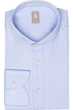 Jacques Britt Hemd Slim Fit blau