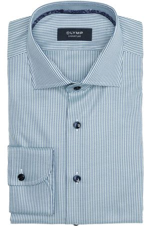 Olymp Hemd Tailored Fit blau