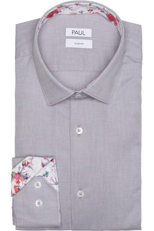 PAUL Hemd Slim Fit grau