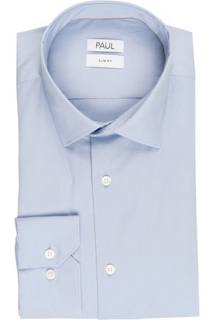 PAUL Hemd Slim Fit blau