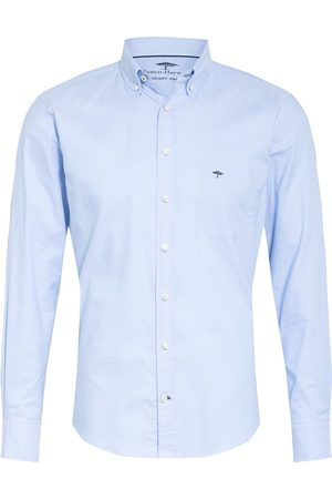 Fynch-Hatton Hemd Casual Fit blau
