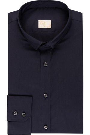 Q1 Manufaktur Herren Business - Hemd Sandro Extra Slim Fit blau