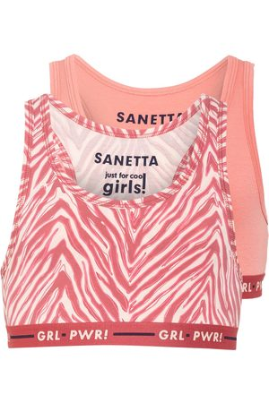 Sanetta 2er-Pack Bustiers pink