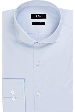 HUGO BOSS Hemd Jason Slim Fit blau