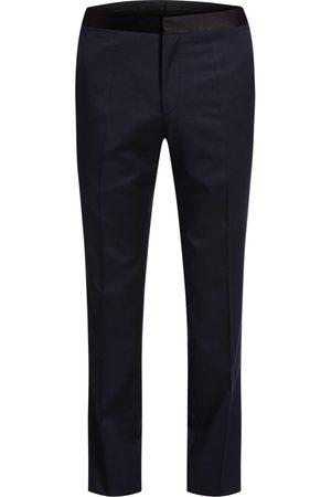HUGO BOSS Smoking-Hose Gilan Slim Fit blau
