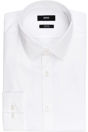 HUGO BOSS Hemd Isko Slim Fit weiss