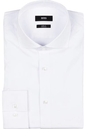 HUGO BOSS Hemd Jason Slim Fit weiss