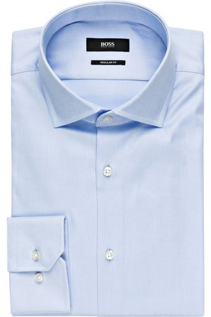 HUGO BOSS Hemd Gordon Regular Fit blau