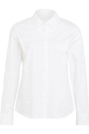 HUGO BOSS Bluse Banew weiss
