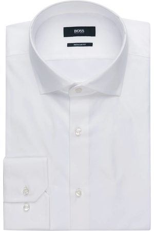 HUGO BOSS Hemd Gordon Regular Fit weiss